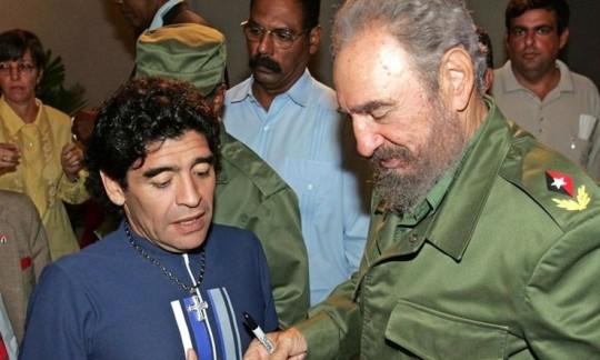 مارادونا ، در قاب سیاست